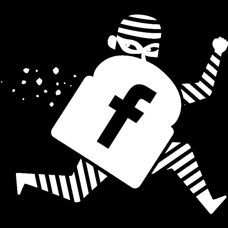 Logo Escrocs Facebook Blanc Escrocs