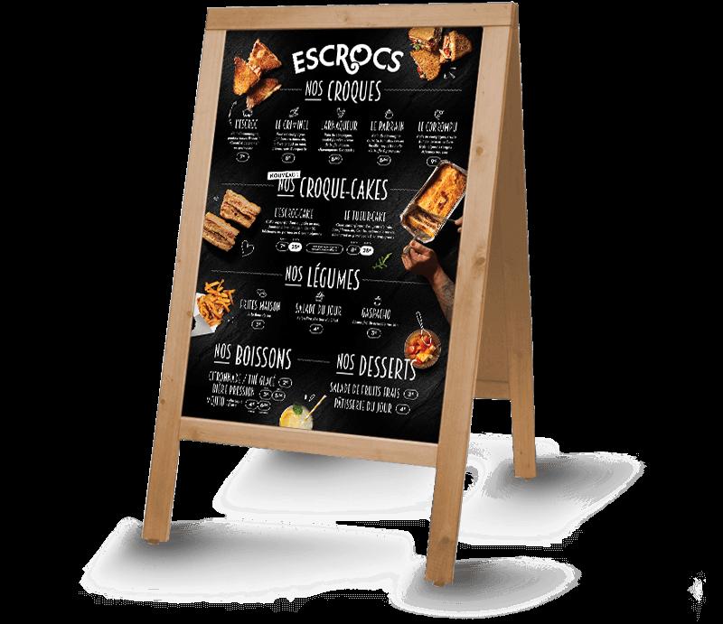escrocs menu hiver