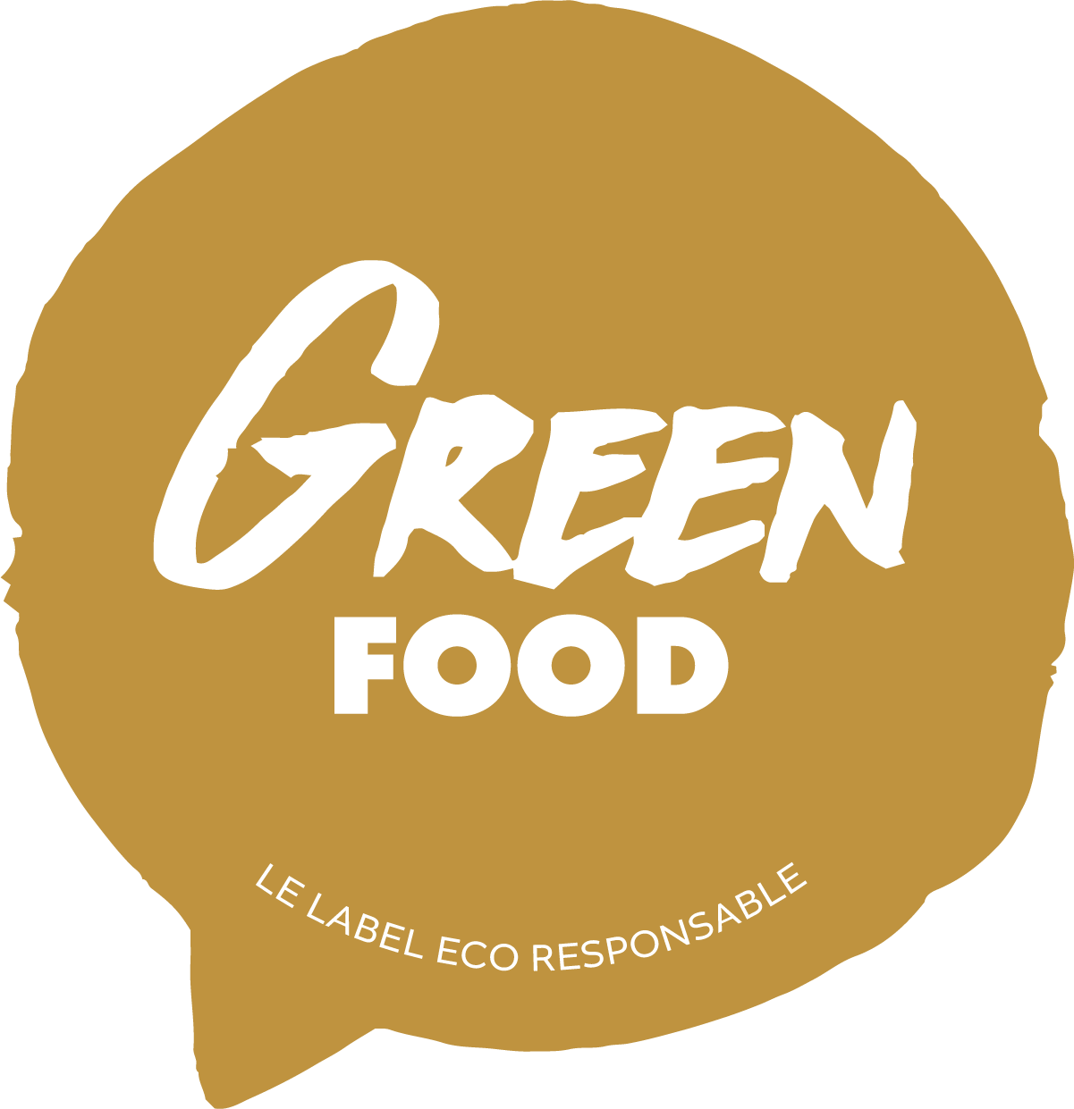 green food label