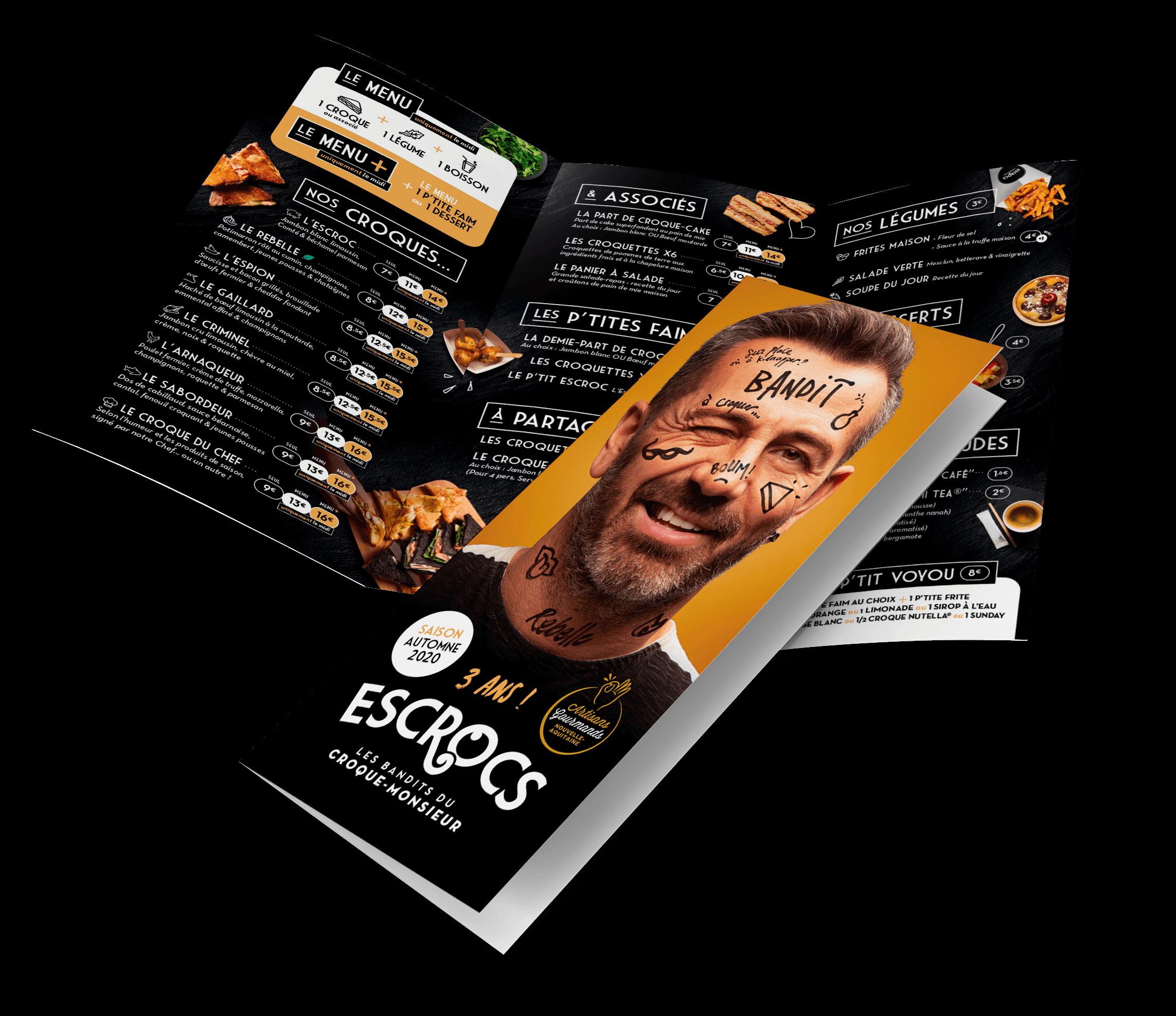 ESCROCS, menu hiver 2020